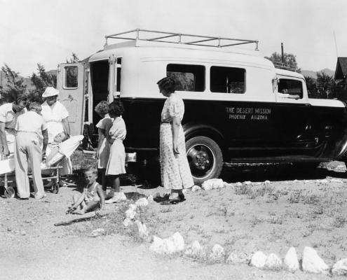 Historic Desert Mission Ambulance