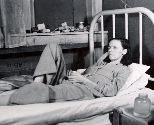 Female Desert Mission Patient